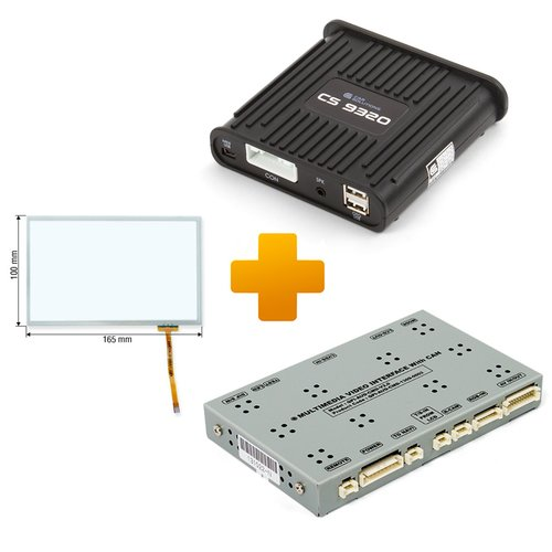 Навигационно-мультимедийный комплект для Audi MMI 3G на базе CS9320А