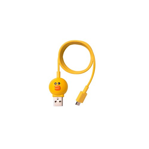 Micro-USB 5-контактный кабель для подключения смартфона (Line Friends – Sally)
