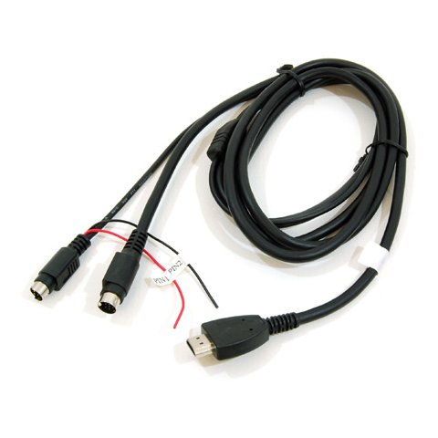 Cable for CS9100 CS9200 Navigation Box Connection to Audiovox Multimedia Systems