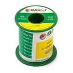 Solder BAKU BK-10006, (Sn 97% , Ag 0,3%, Cu 0,7%, flux 2%, 0,6 mm, 100 g)