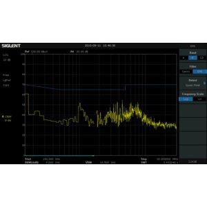 EMI Measurement Module SIGLENT EMI-SSA3000X (Activation Key) for SIGLENT SSA3000X