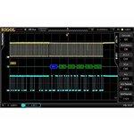 Opción de software RIGOL SD-I2C/SPI-DS6 para análisis y disparo por el bus serial I2C, SPI
