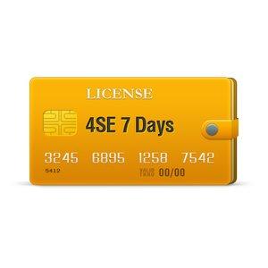 4SE лицензия на 7 дней