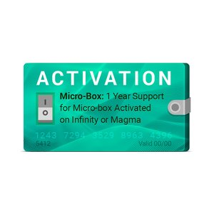 Micro-Box: Активация поддержки на 1 год для Infinity или Magma с активацией Micro-Box