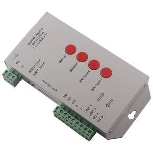 Контролер RGB T-1000S (з підтримкою DMX 512, WS2811, WS2801, WS2812B, 15 A, SD-карта)