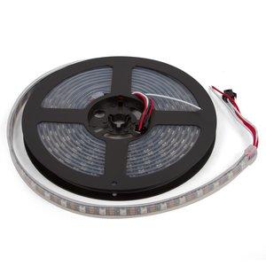 Світлодіодна стрічка RGB SMD5050, WS2812B (з управлінням, IP67, 5 В, 60 діодів/м, 5 м)