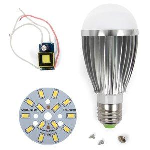 Комплект для збирання лампи SQ-Q03 5730 7 Вт E27 – холодний білий