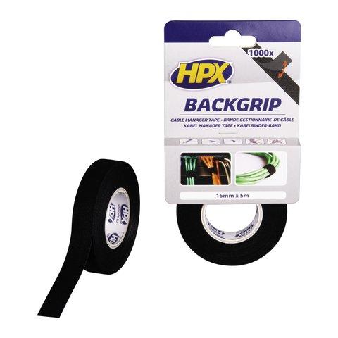 Стрічка застібка для кабелів HPX BG1605 BACKGRIP