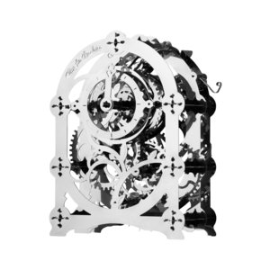 Metal Mechanical 3D Puzzle Time 4 Machine Mysterious Timer