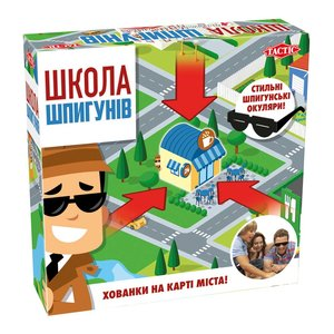 Настольная игра Tactic Школа шпионов (на украинском языке)