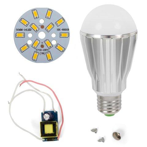 LED Light Bulb DIY Kit SQ Q17 5730 E27 7 W – warm white